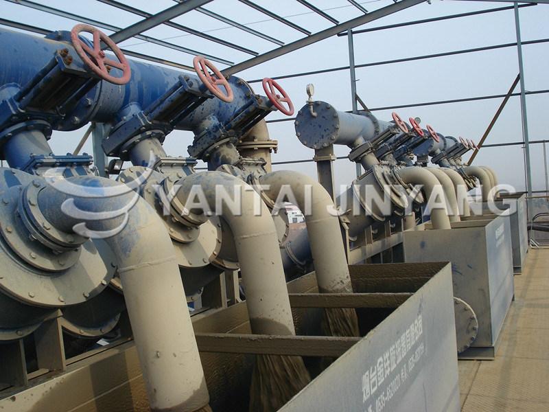 Mining Equipment Thickening Hydrocyclone+Dewatering Screen Make Tailings Dry