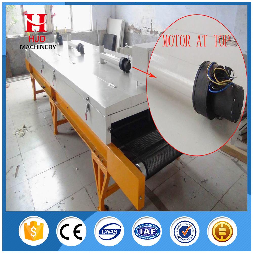Fabric T-Shirt Screen Printing Tunnel Dryer Printing Machine