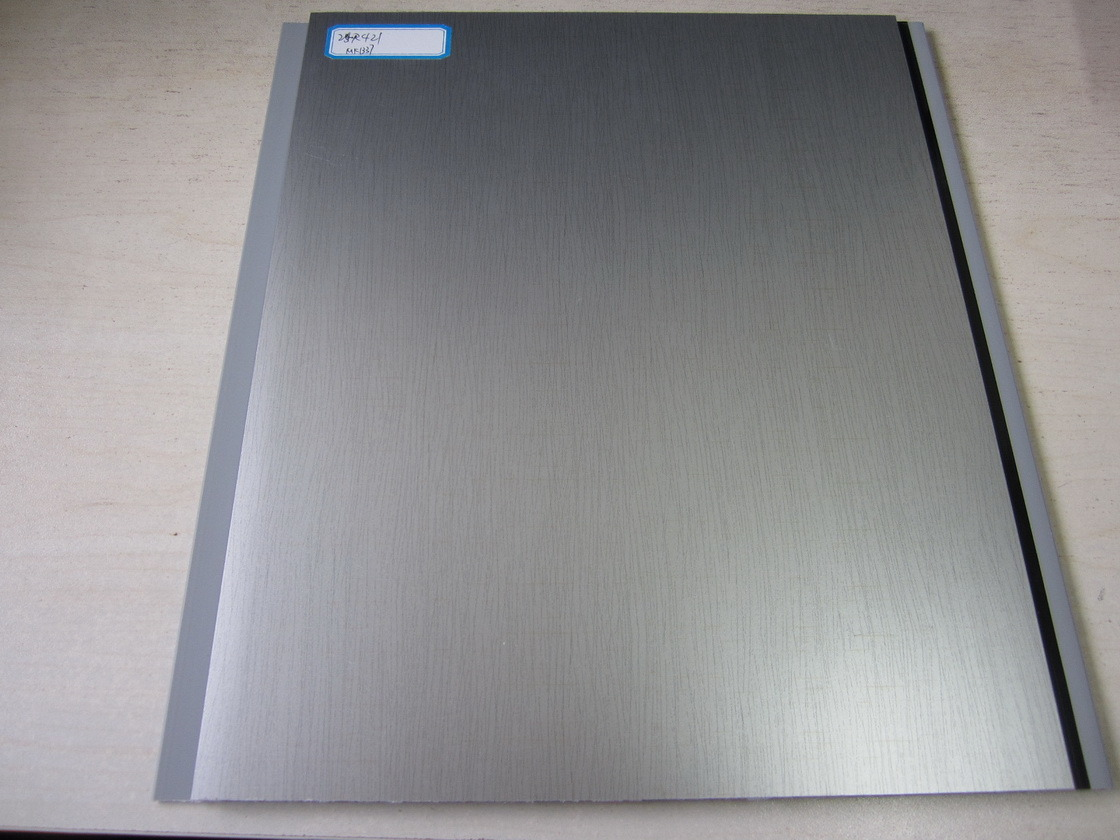 Hot Transfer PVC Panel - Silver Grey