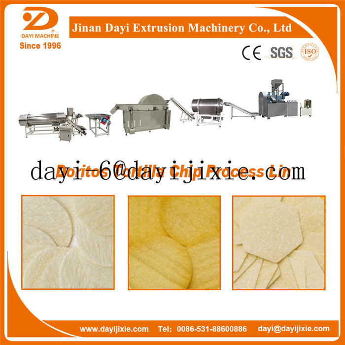 Double Screw Tortilla Chips Making Extruder