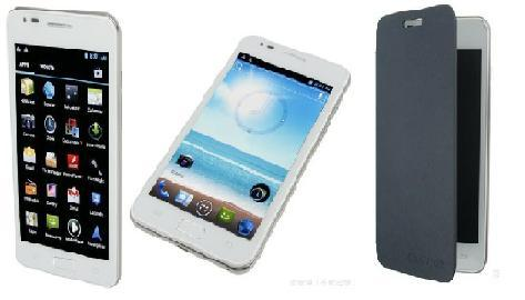 Android 4.0, 3G (WCDMA) +GSM, 5.3inch WVGA Capacitive Multi Touch