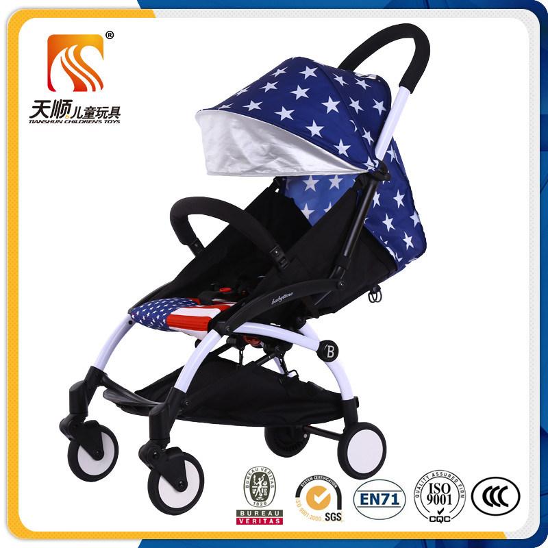 2017 Latest Model Aluminium Alloy Baby Stroller with Folding Function