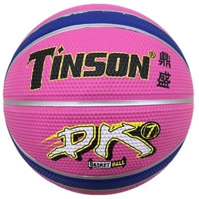 High Quality Rubber Colorful Basketball