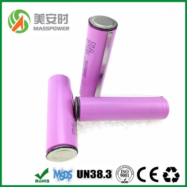 High Quality 18650 3.7 Volt Li-ion Battery