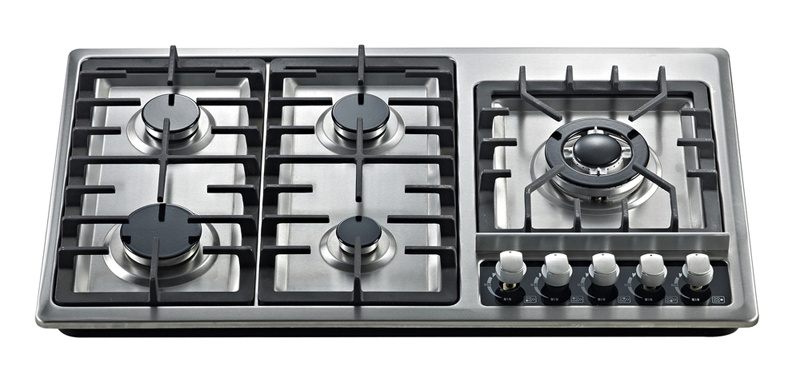 Build-in Gas Stove with Five Cast Iron Burner Jz5-Oh-Az01