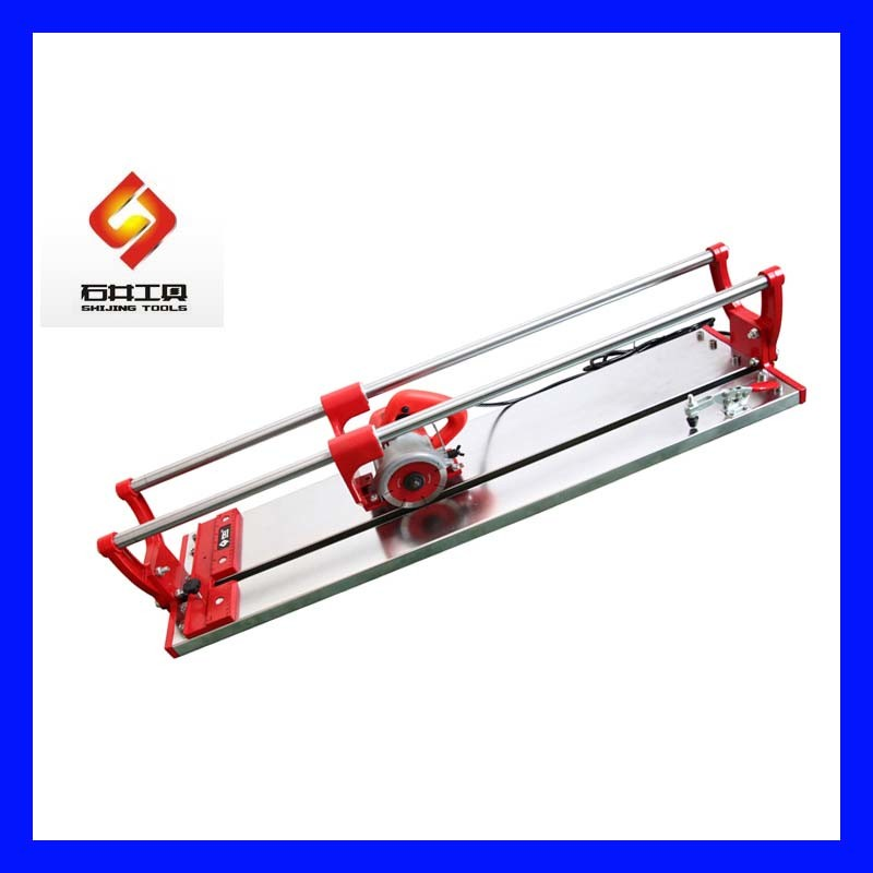 B Q Tile Cutter: China Electric Tile Cutter With Single Bearing Slide Bars