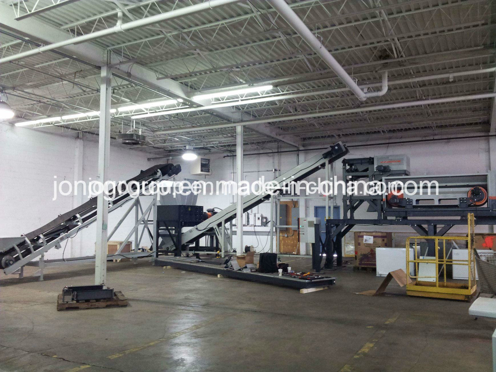 1pss3410b Quadruple-Shaft (Shear) Shredder for Metal Recycling Industry
