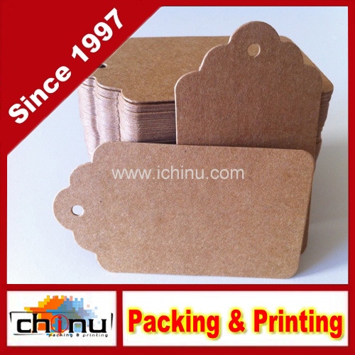 Customized Paper Hang Tag Label (420019)