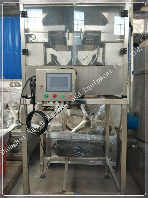 Nuoen Eight Stations Automatic Weighing Machine for Particles/Powder