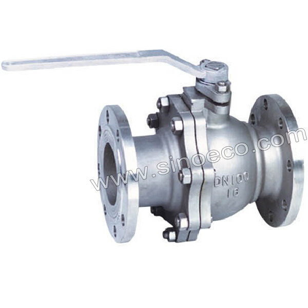 Flange End Stainless Steel Floating Ball Valve