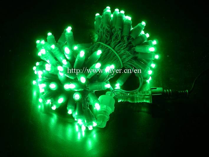 LED Christmas Injected String Light Christmas Light Decorations with Ce