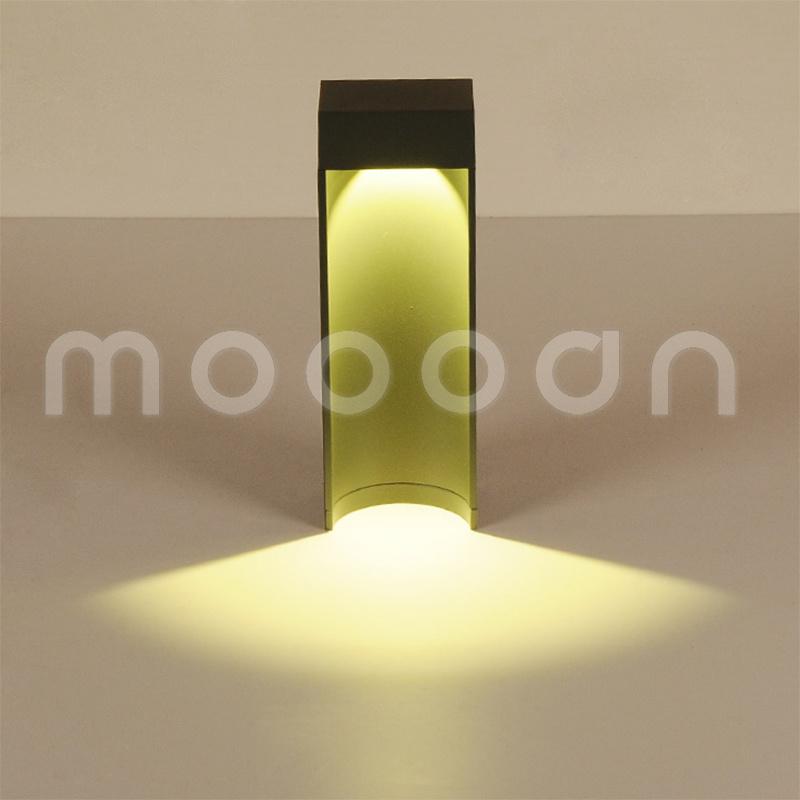 Simple Fashion Shape IP54 Waterproof Aluminium Alloy LED Garden Light