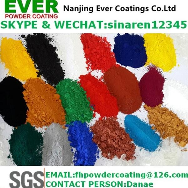 Ral7032 Texture Powder Coating Paint Epoxy Polyester Electrostatic Spray