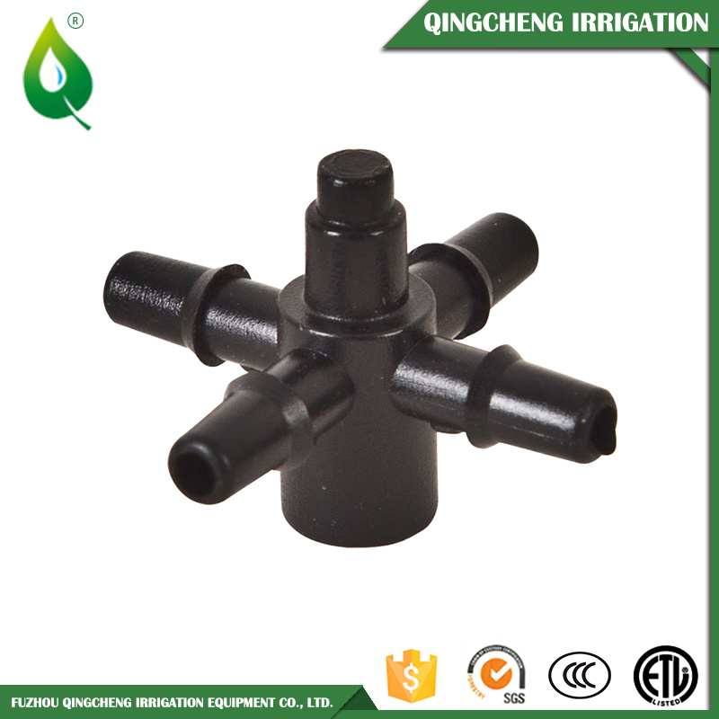 Plastic Male Black Irrigation Anti Drainage Valve