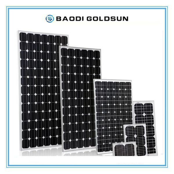 55W Monocrystalline Solar Panel Cell Module