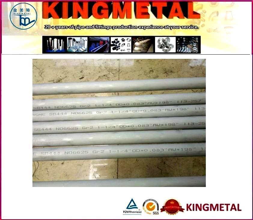 Inconel 600 625 800 825 Nickel Alloy Seamless Pipes