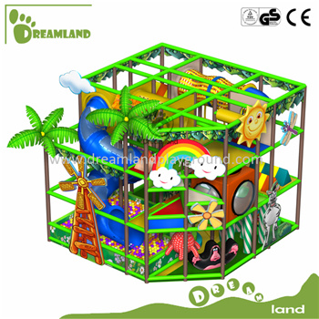 Happy Kids Entertainment Indoor Playground for Park with CE Certificate