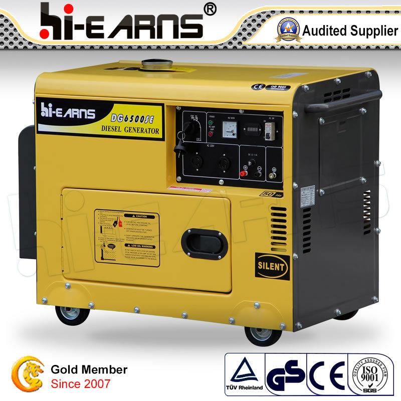 2-10kw Diesel Generator Set/ Air-Cooled Generator (DG6500SE)