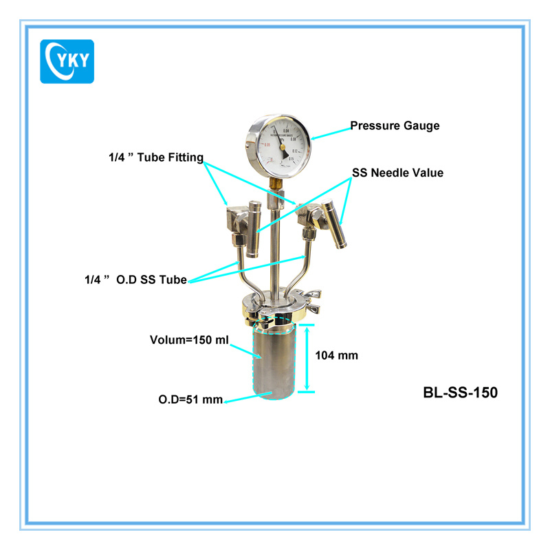 Bubbler / Evaporator for Liquid Sources & Chemical Precursors Delivery in CVD Processes