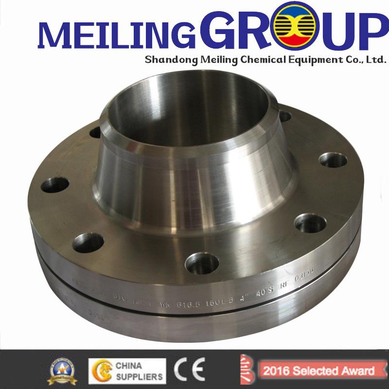 A105n Carbon Steel Weld Neck Flange Forged Flange to ASME B16.5 (KT0010)