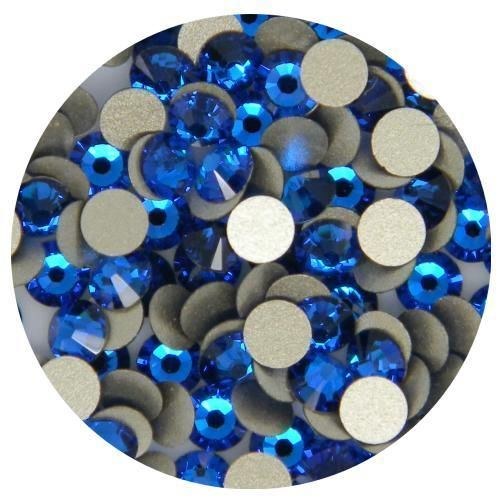 1440PCS Rhinestone Flatbacks Crystal Ss10 (2.8mm) Capri Blue No Hotfix