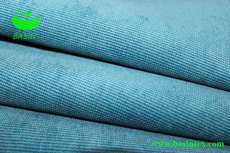 Hot Two-Tone Sofa Furnishing Polyester Fabric (BS2204)