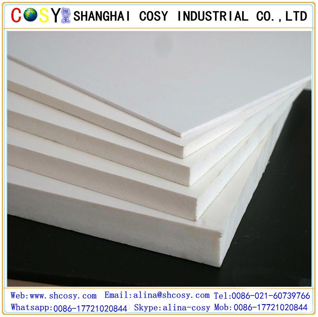 PVC Foam Sheet 1-40mm High Quality Water Resistant for Printing
