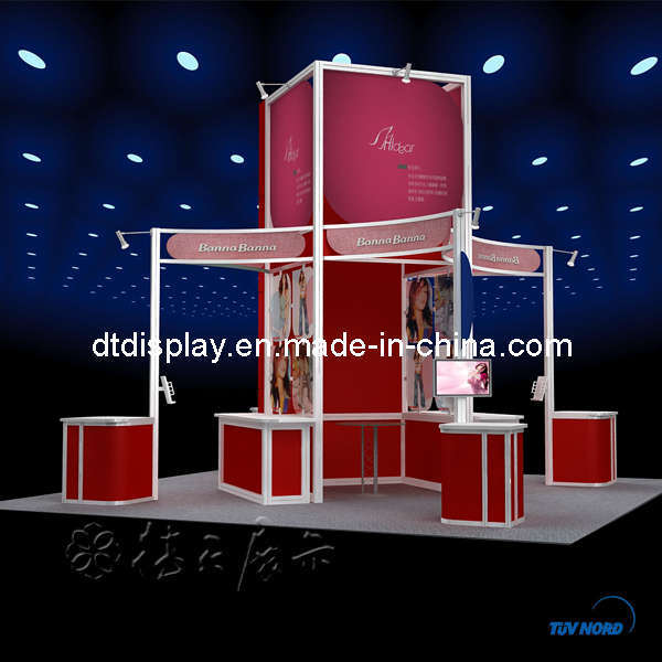 Exhibition Booth Hs Code : China m cosmetic exhibition booth dt
