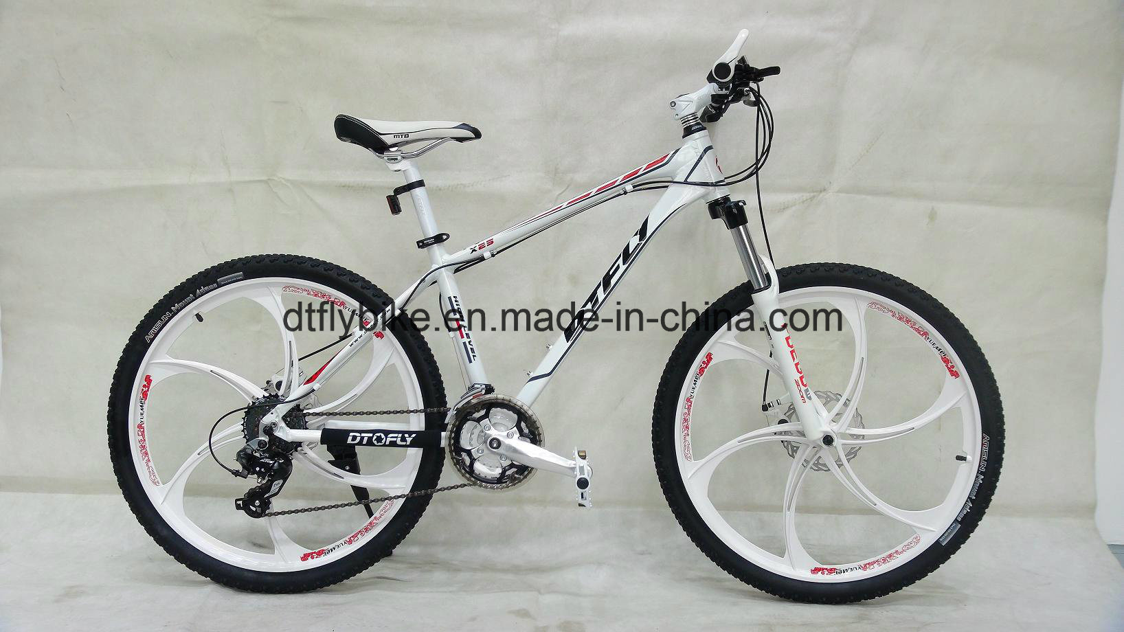 Alloy Frame Mountain Bike, One Piece Wheel Bike,