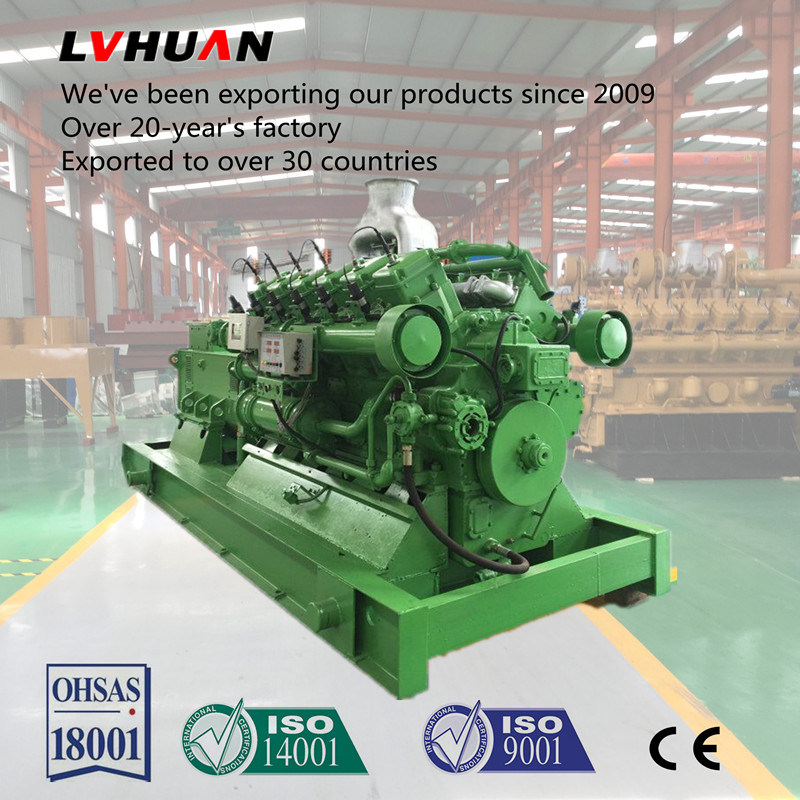10kw-1MW Methane Gas Engine Power Equipments Slient Genset Electric Biogas Gas Generator