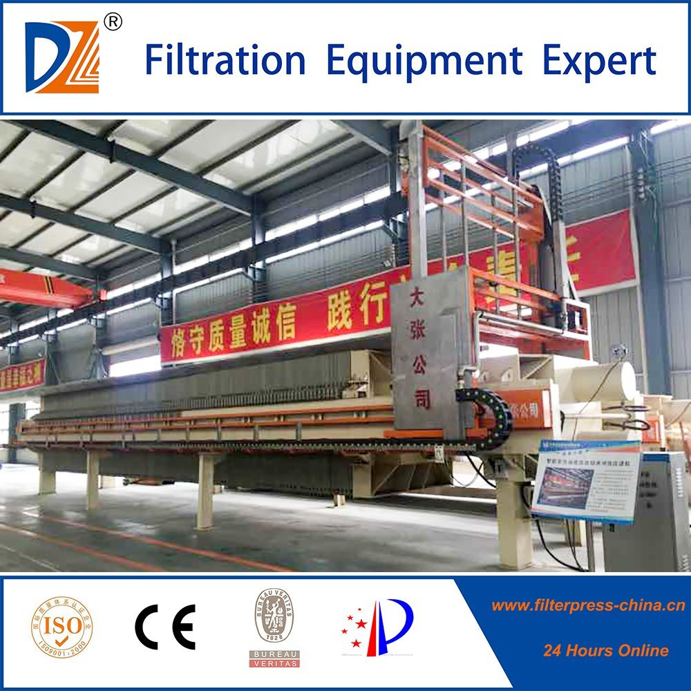 The Biggest Filter Area Membrane Filter Press