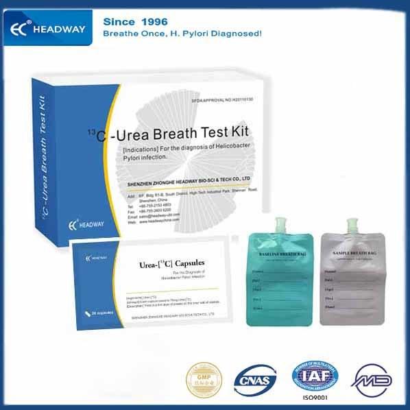 C13 Urea Breath Test Kits for Helicobacter Pylori (HP) Diagnositc