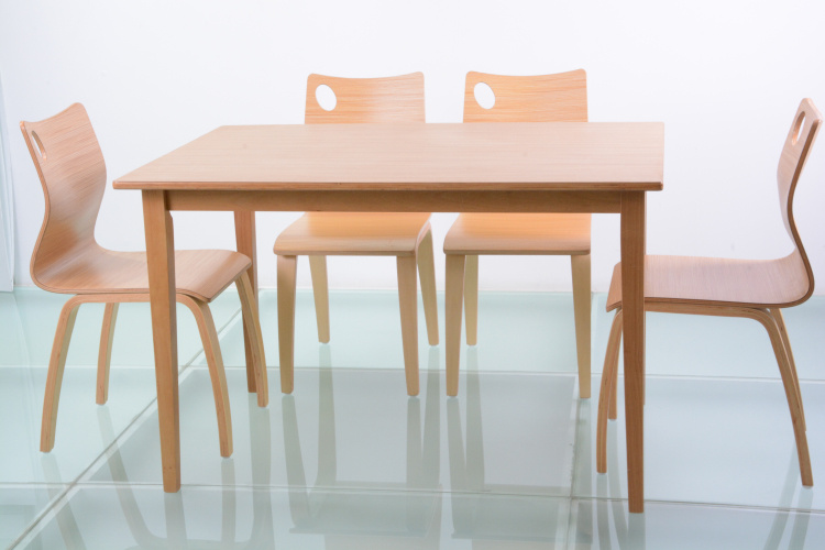 Restaurant Furniture Wood Table and Chair for Dining (FOH-NCP17)