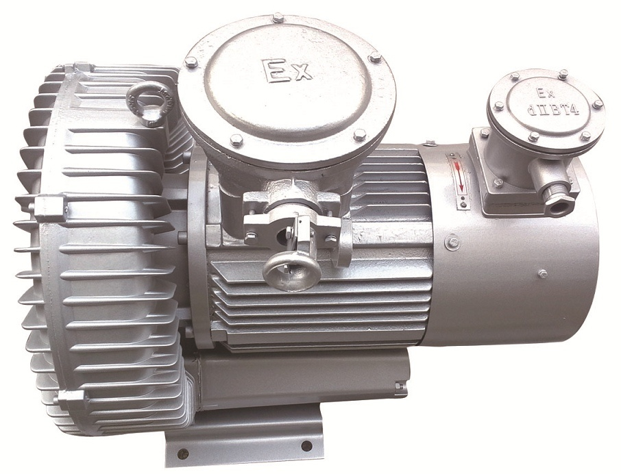Side Channel Blower with Atex Explosion Proof Motor (410H06A)