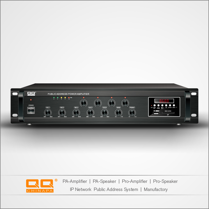 PA-680 4 Zone Mixer Outdoor Sound Digital Amplifier
