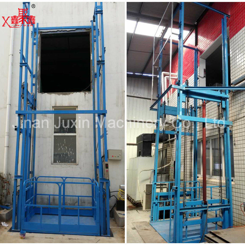 Fixed Warehouse Cargo Elevator Lift