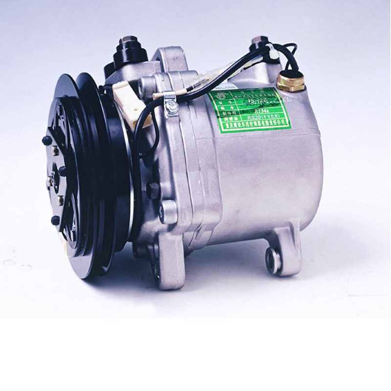 Air Conditioner Compressor In Car
