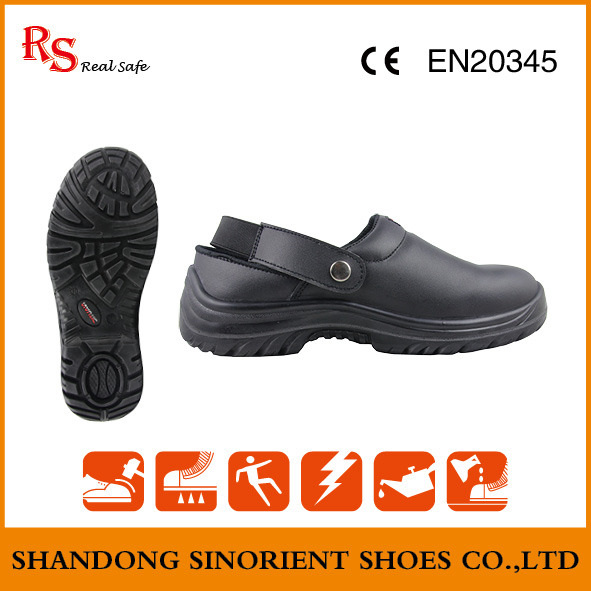 Slip Resistant Sandal Safety Shoes, Cheap Kitchen Safety Shoes Snf5113b