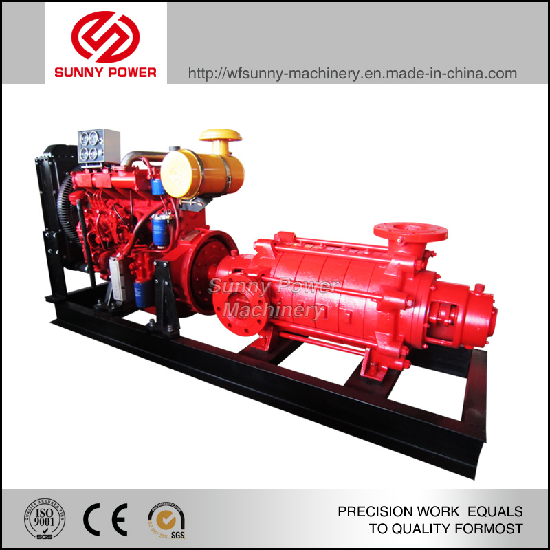 6inch Water Pump Fire Fighting Use 90HP Diesel Engine Powered with Jocky Pump