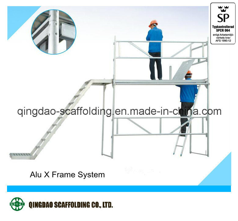 European Certification Aluminium Frame Scaffold for Sale in China