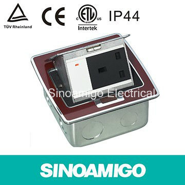 Red Resin Instabus Eib Pop-up Floor Outlet Box