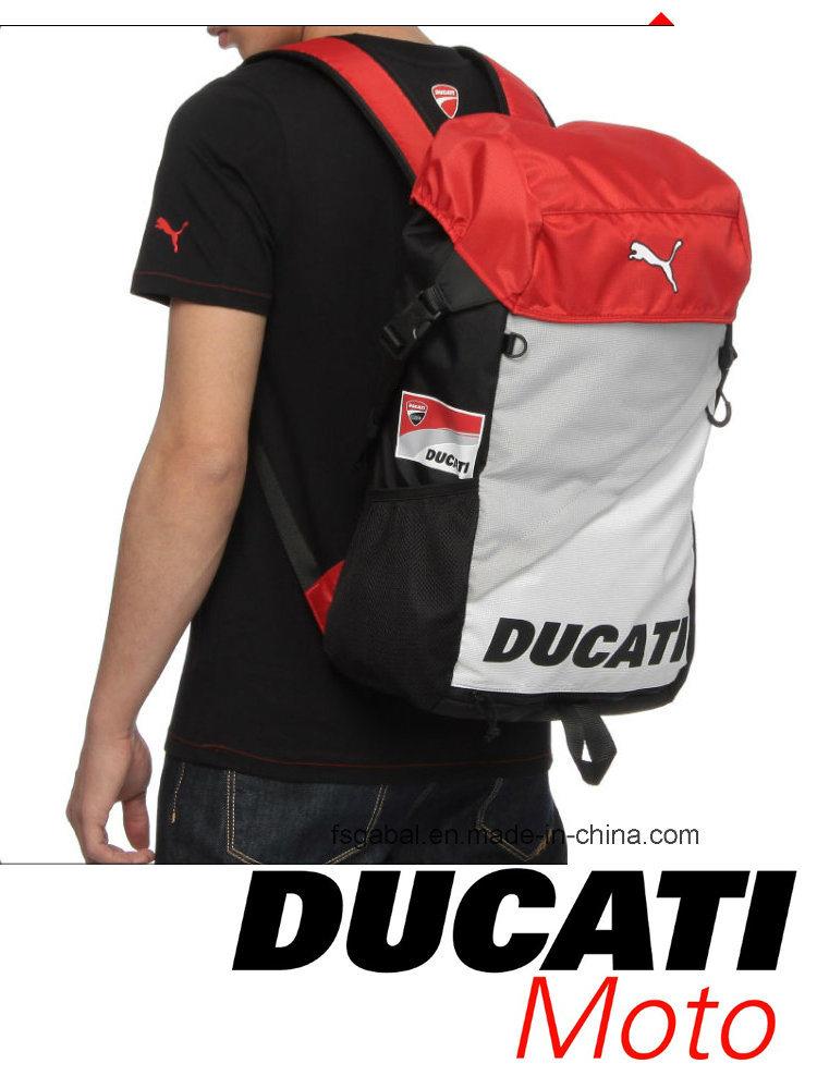 Ducati Moto Knight Sports Helmet Bag Backpack with Net Pocket