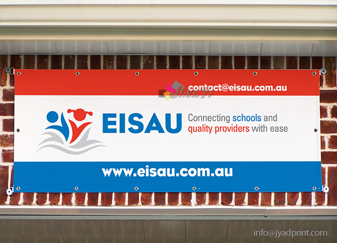 Outdoor Wall/Guardrail Advertising PVC Banner, Vinyl Signs Banner Printing