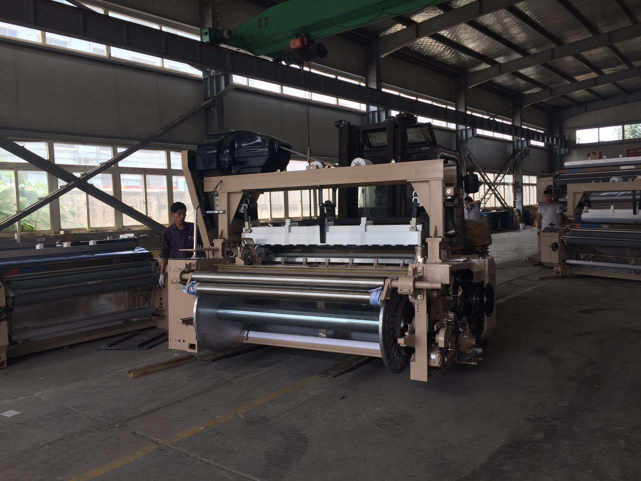 851 Model Water Jet Loom Running Good in India