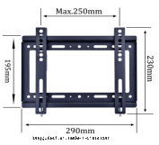Fixed TV Bracket 1.1mm thickness Material Lgt-B27