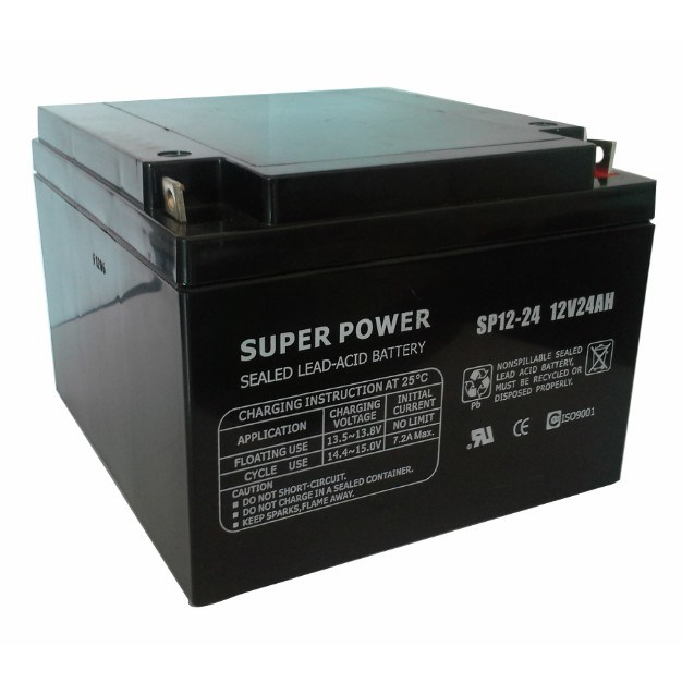 UPS Battery 12V 24ah with CE UL ISO9001 ISO14000
