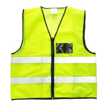 CE Approved Security Reflective Safety Vest V023