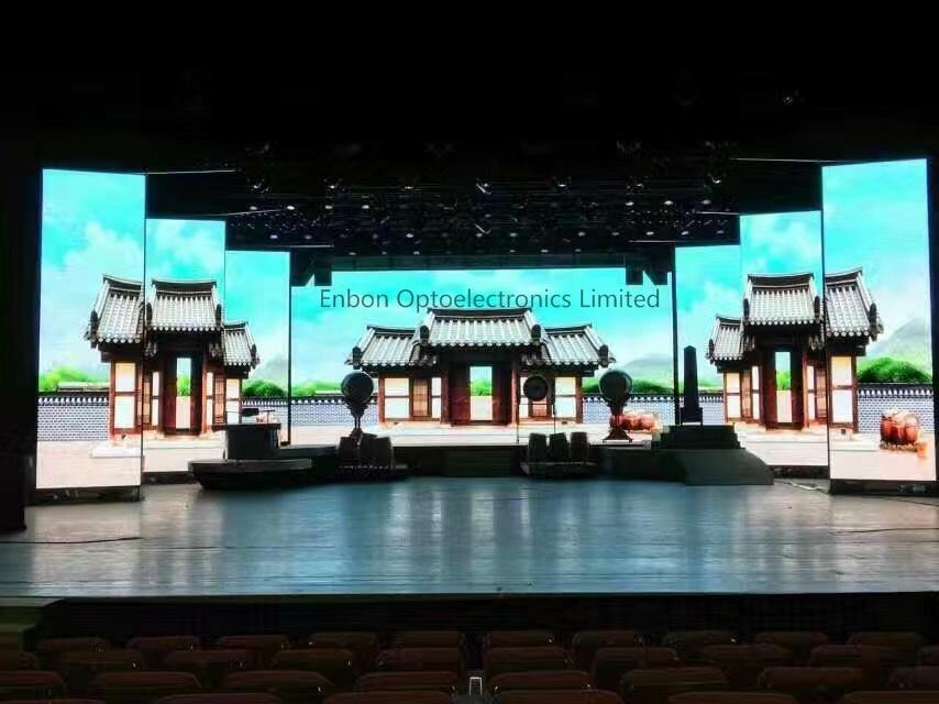 Slim Indoor Video Display Panel / Screen LED for Rental (P3mm-RGB wall pantalla)