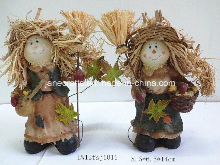 Polyresin Harvest Festival Decoration Polyresin Craft