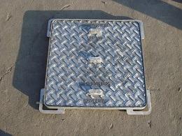 En124 Sand Casting Manhole for Square Frame B, C&D